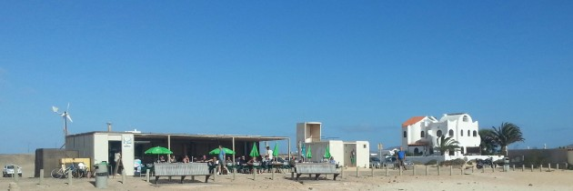 El Cotillo Beach Bar - La Concha Beach - Holiday in Fuerteventura